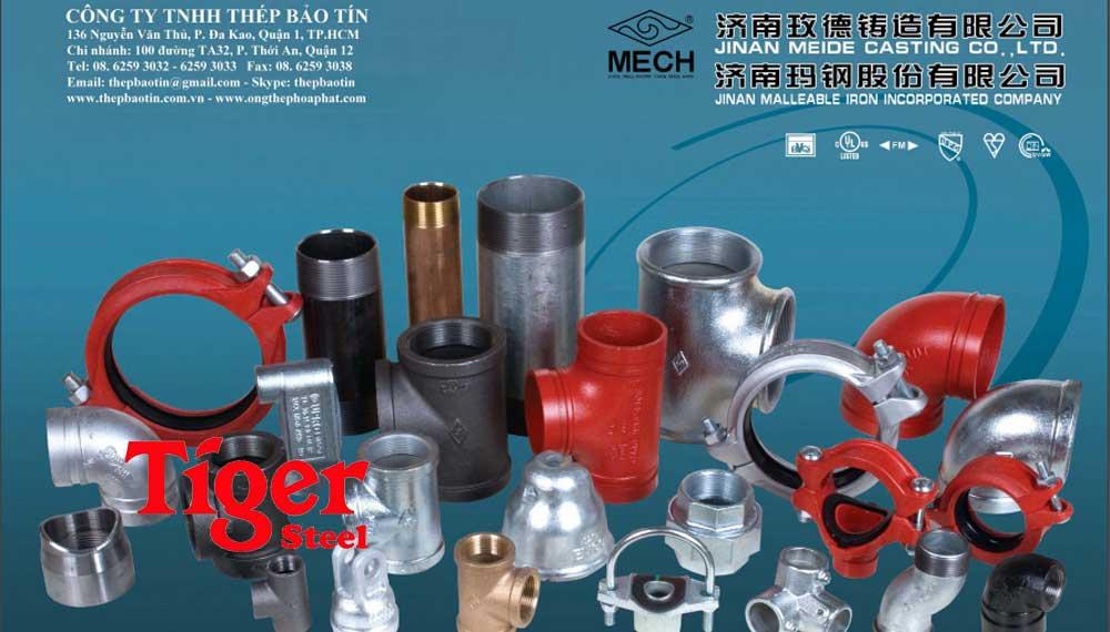 Catalogue phụ kiện ren mech