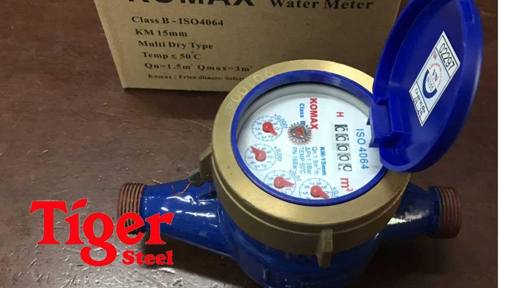 Đồng hồ nước komax Hàn Quốc