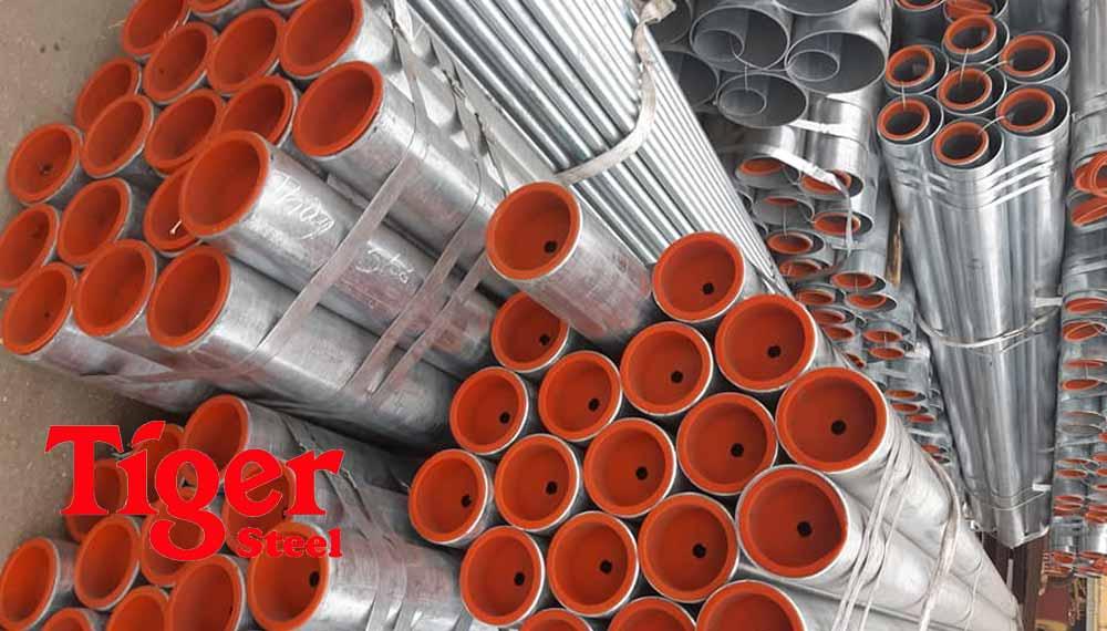 ống thép đúc mạ kẽm chất lượng