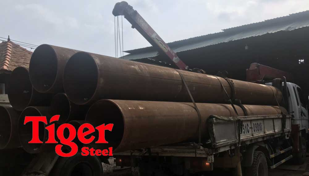 ống thép hàn đen cỡ lớn tại Tphcm
